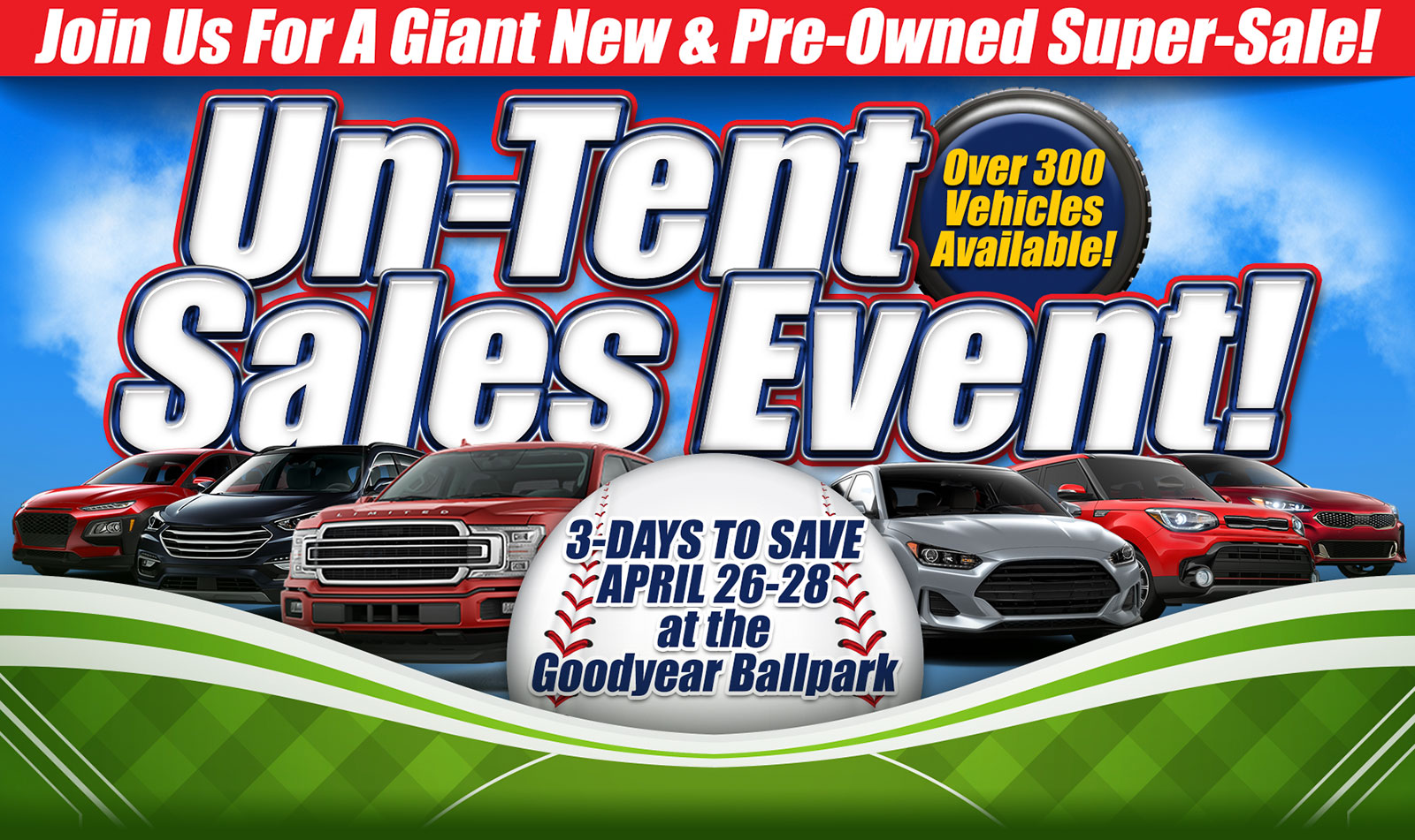 Goodyear Tent Sale